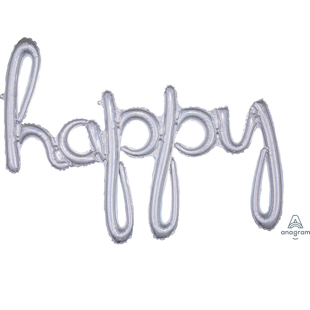 39173「happy」(ホログラムスパークル)