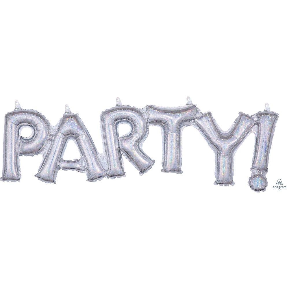 39177 「PARTY」(ホログラム スパークル)