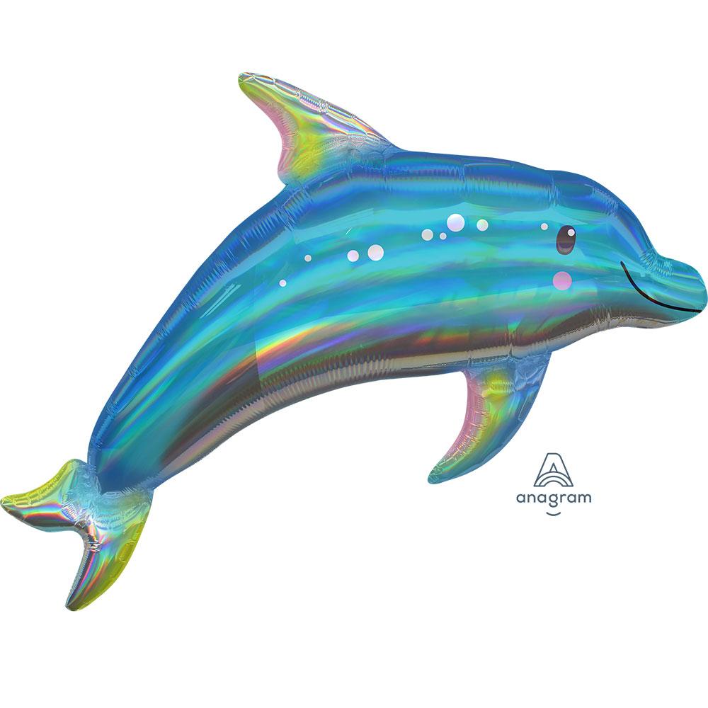 Iridecent Blue Dolphin