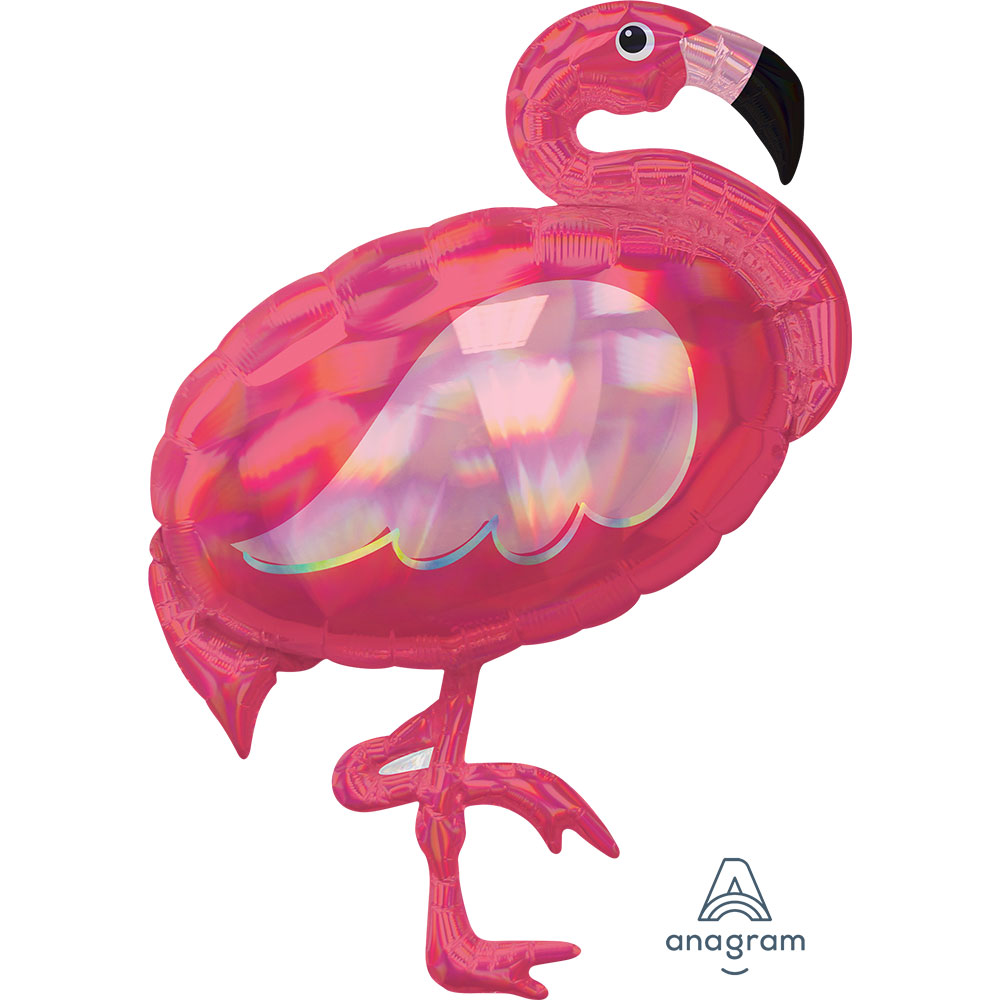 Iridecent Pink Flamingo