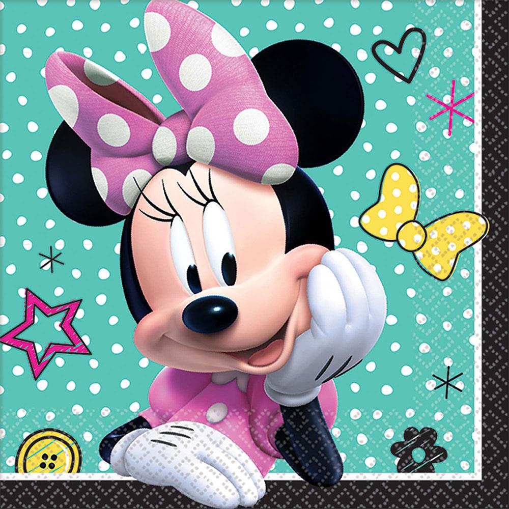 501868 ビバレッジナプキン『ミニーマウス ハッピー ヘルパー』