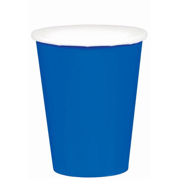 58015.105 ペーパーカップ 9オンス(ブライト ロイヤル ブルー)