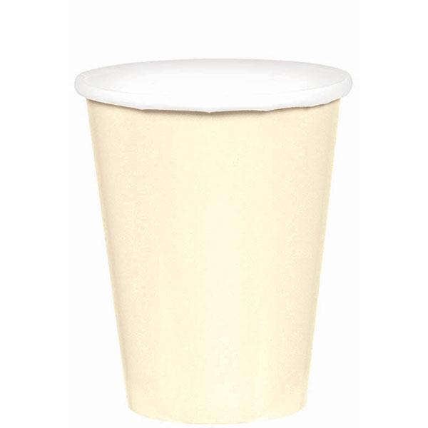 58015.57 ペーパーカップ 9オンス(ヴァニラ クリーム)