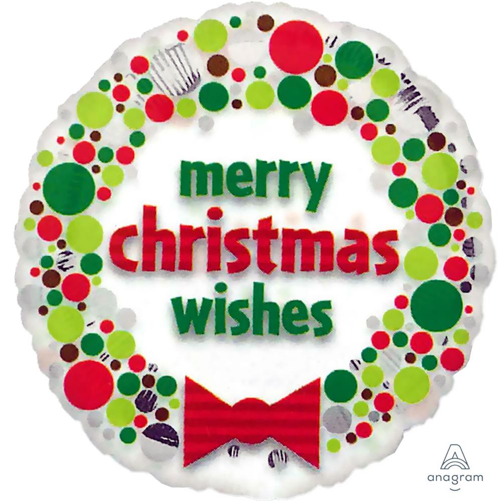 22801 クリアメタリック クリスマス ウィッシーズ ドッツ