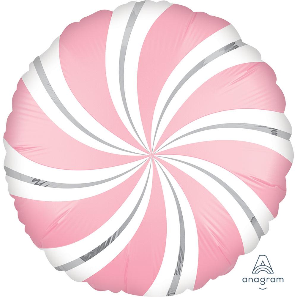 40278  Satin キャンディスワール(バブルガム ピンク)