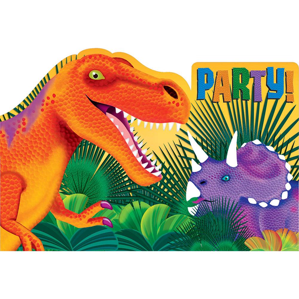 499766 インビテーションカード『プリヒストリック パーティー』