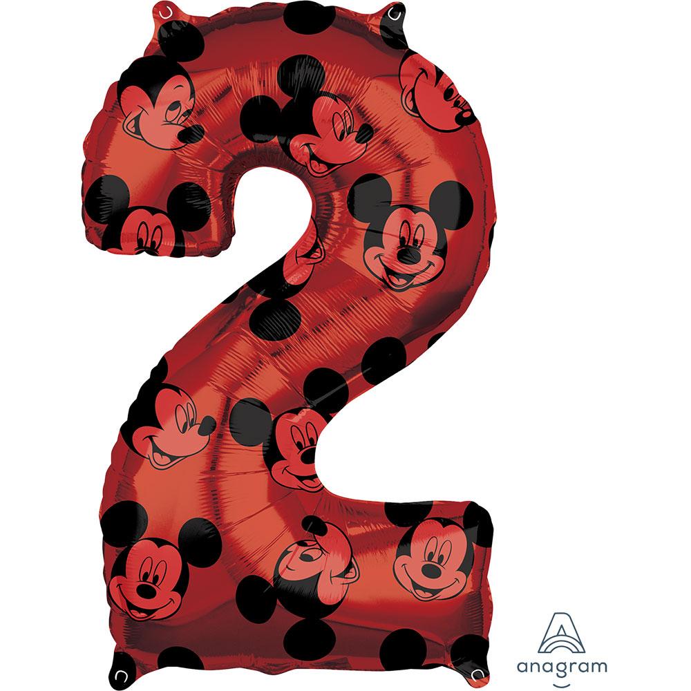 """40132 ミッキーマウス フォーエバー ナンバー「2」(26"""")"""