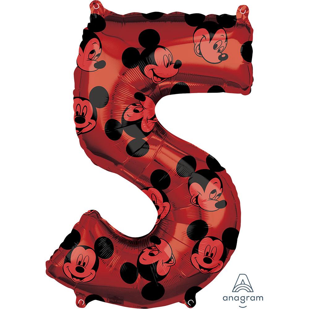 """40135 ミッキーマウス フォーエバー ナンバー「5」(26"""")"""