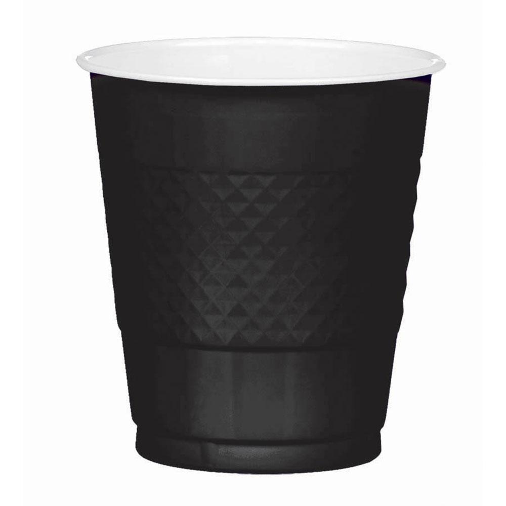 43036.10 プラスチック カップ 12オンス(ジェット ブラック)