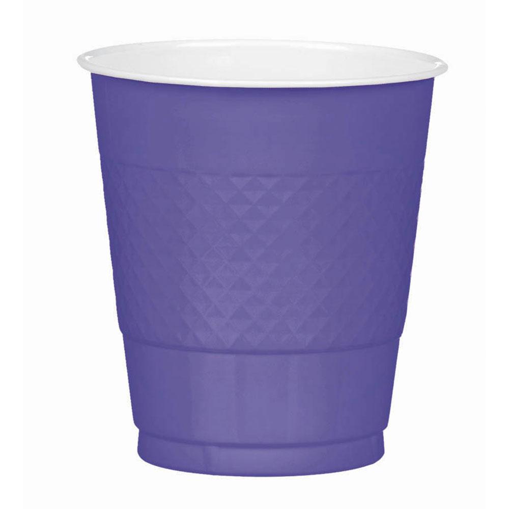 43036.106 プラスチック カップ 12オンス(ニューパープル)