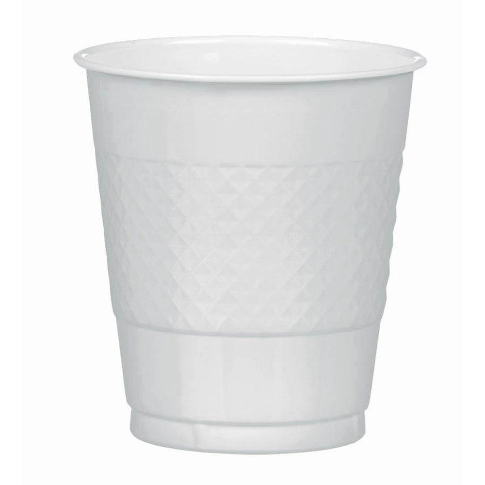 43036.17 プラスチック カップ 12オンス(シルバー)