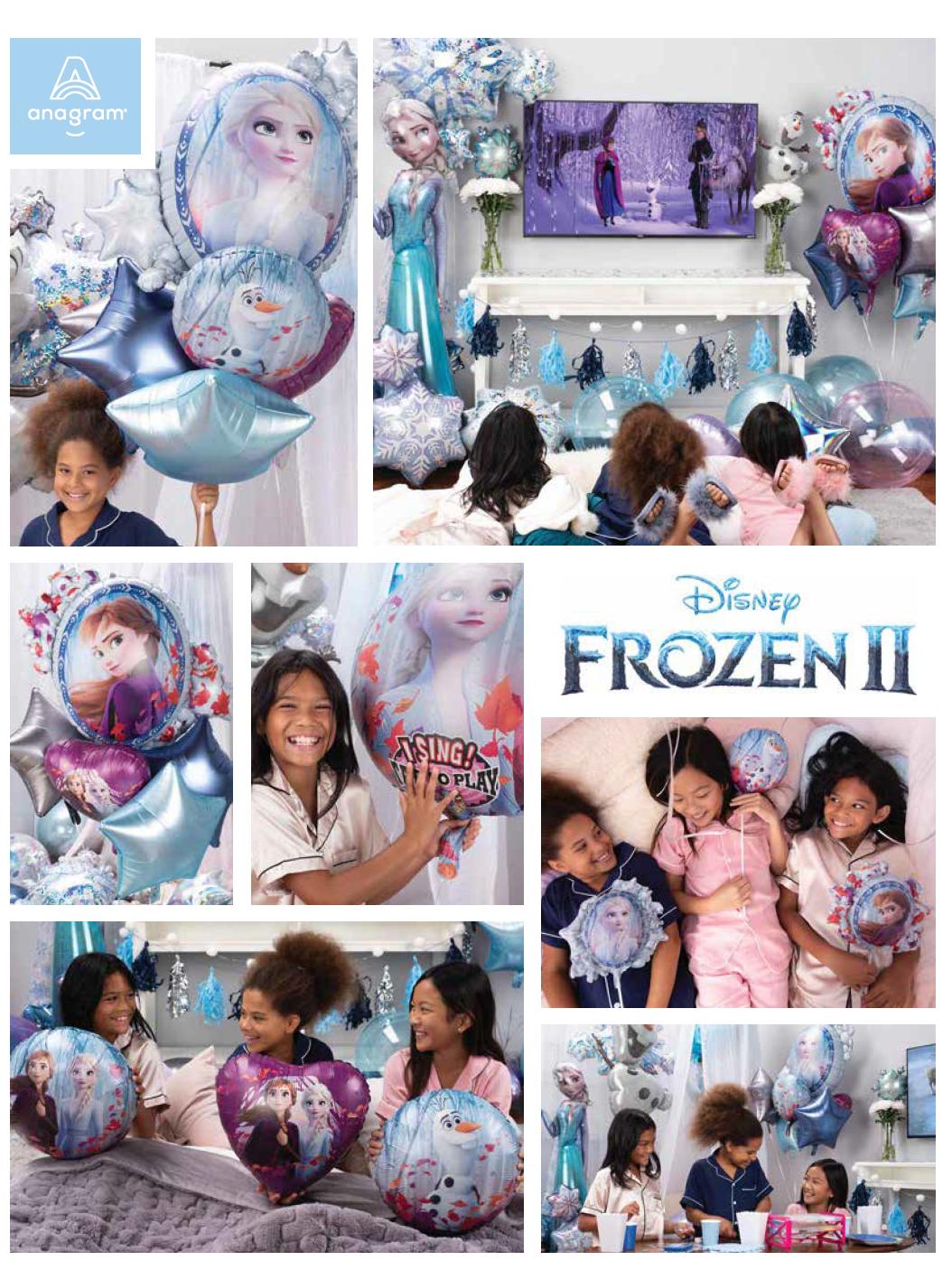 アナと雪の女王2(Frozen2)バルーン発売