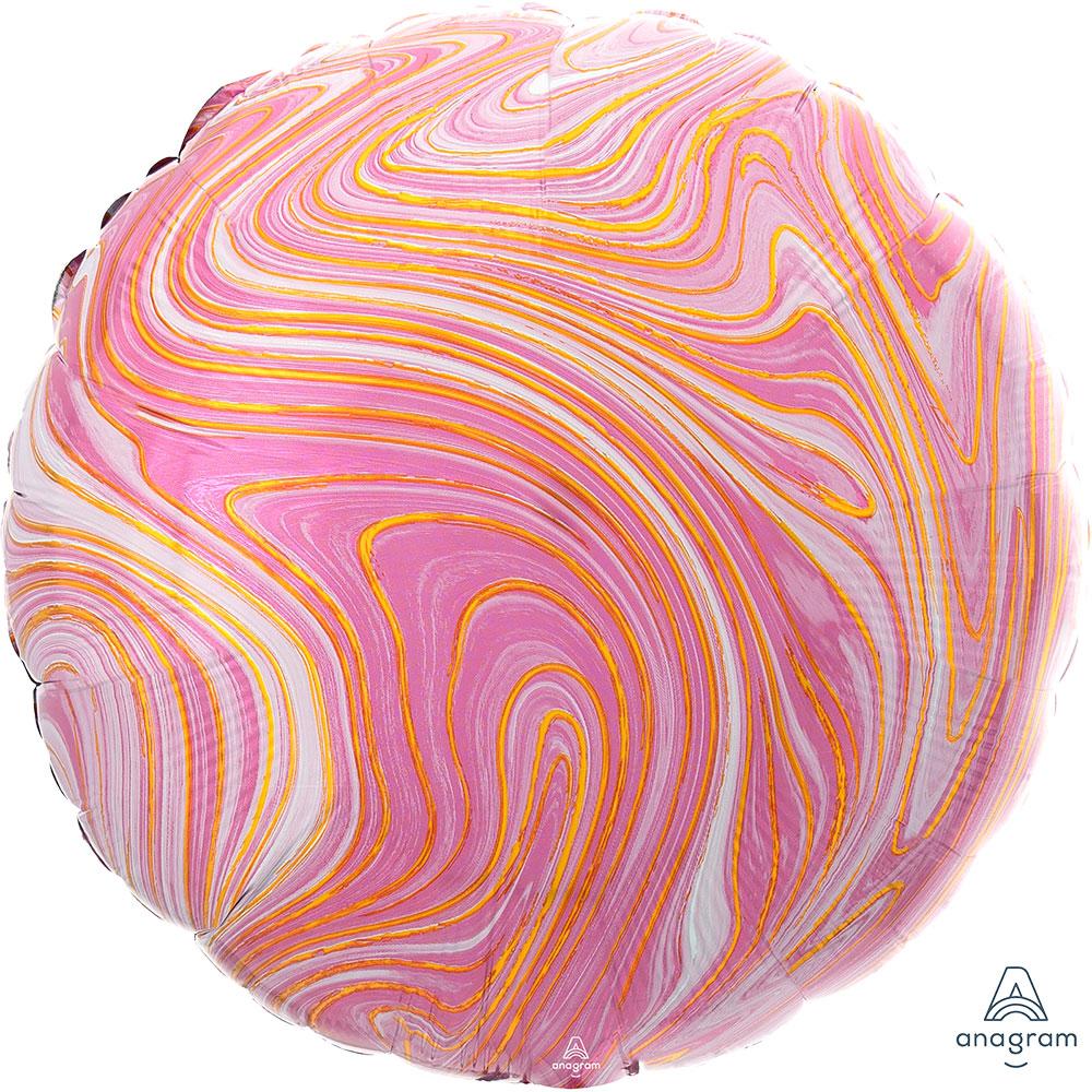 42084 Marblez ラウンド(ピンク)