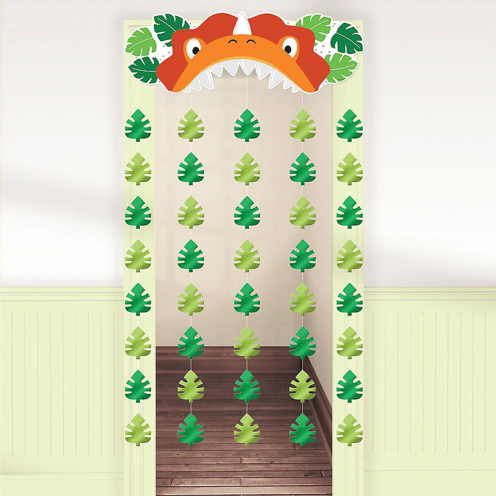 243625 ドア カーテン『ディノマイト パーティ』