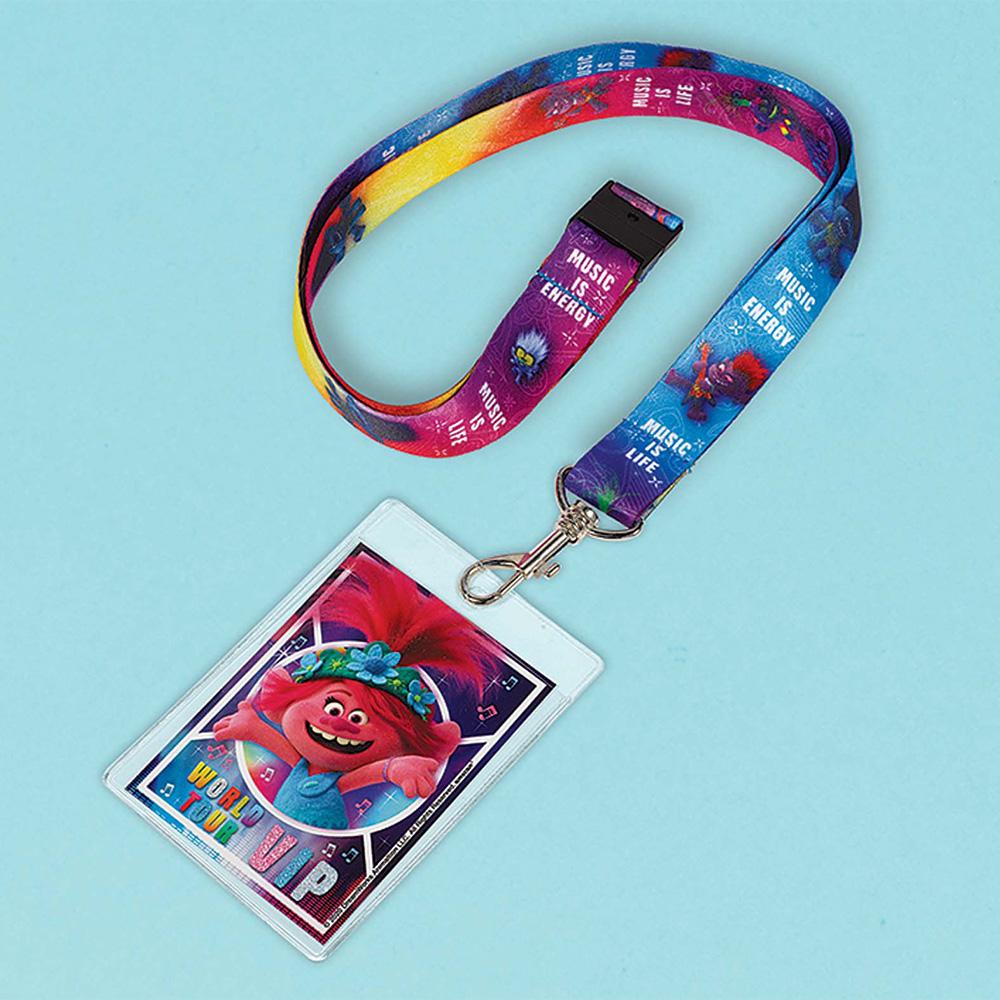 3901684 ID ストラップ カードホルダー フェーバー 『トロールズ ワールドツアー』