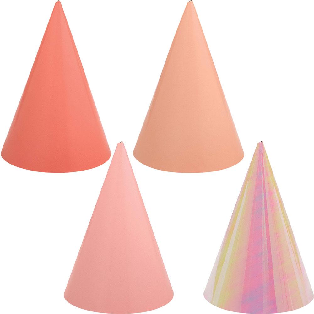 251061 コーンハット『バースデー アクセサリー(ピンク)』