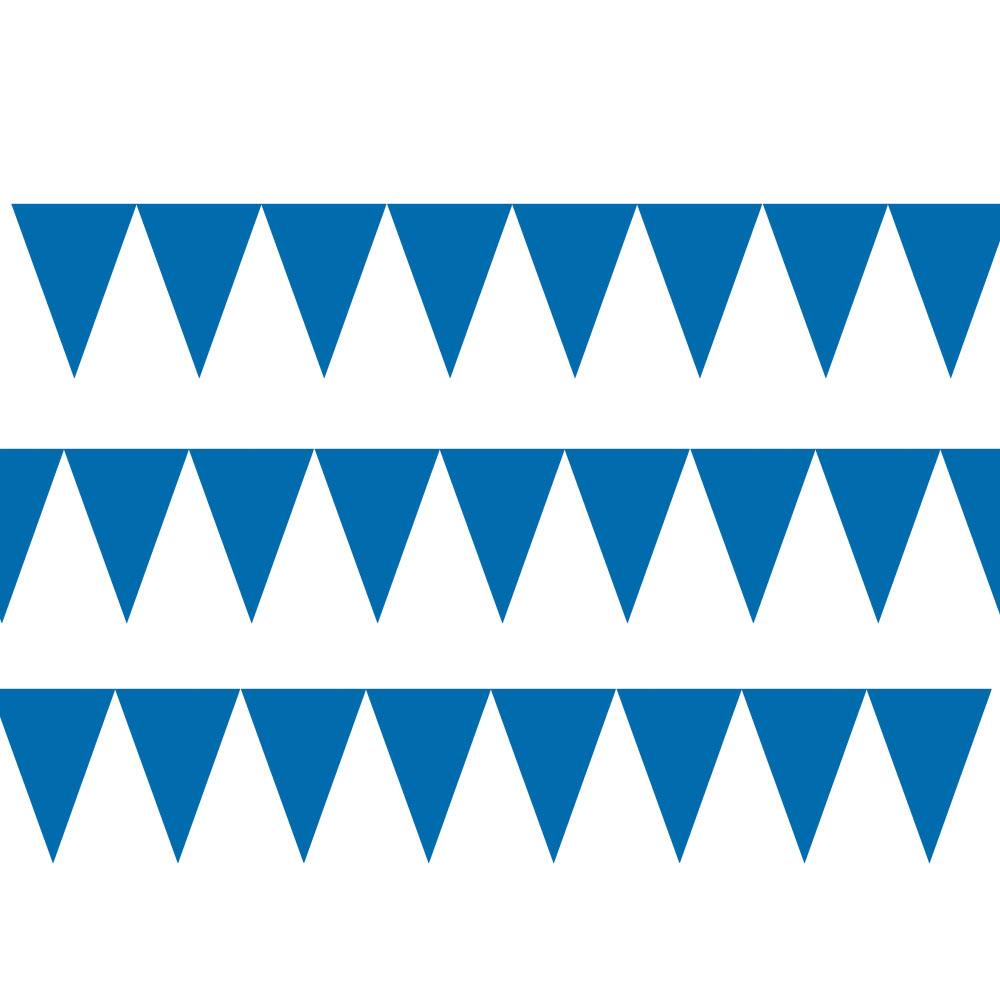 120099.105 ペーパーペナントバナー(ブライトロイヤルブルー)
