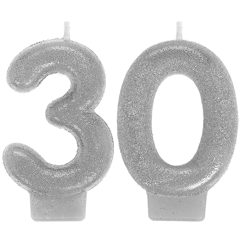170296 ナンバーキャンドル「30」(スパークリングセレブレーション)