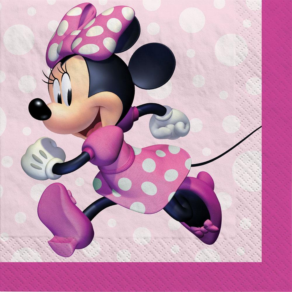 502492 ビバレッジナプキン『ミニーマウス フォーエバー』