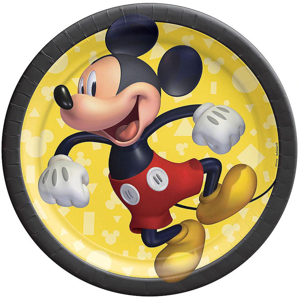 542480 7インチ プレート『ミッキーマウス フォーエバー』