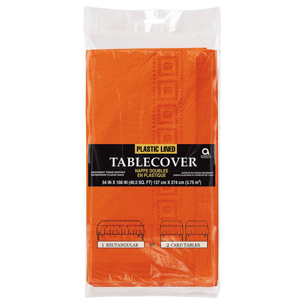 57115.05 ペーパー テーブルカバー(オレンジビール)