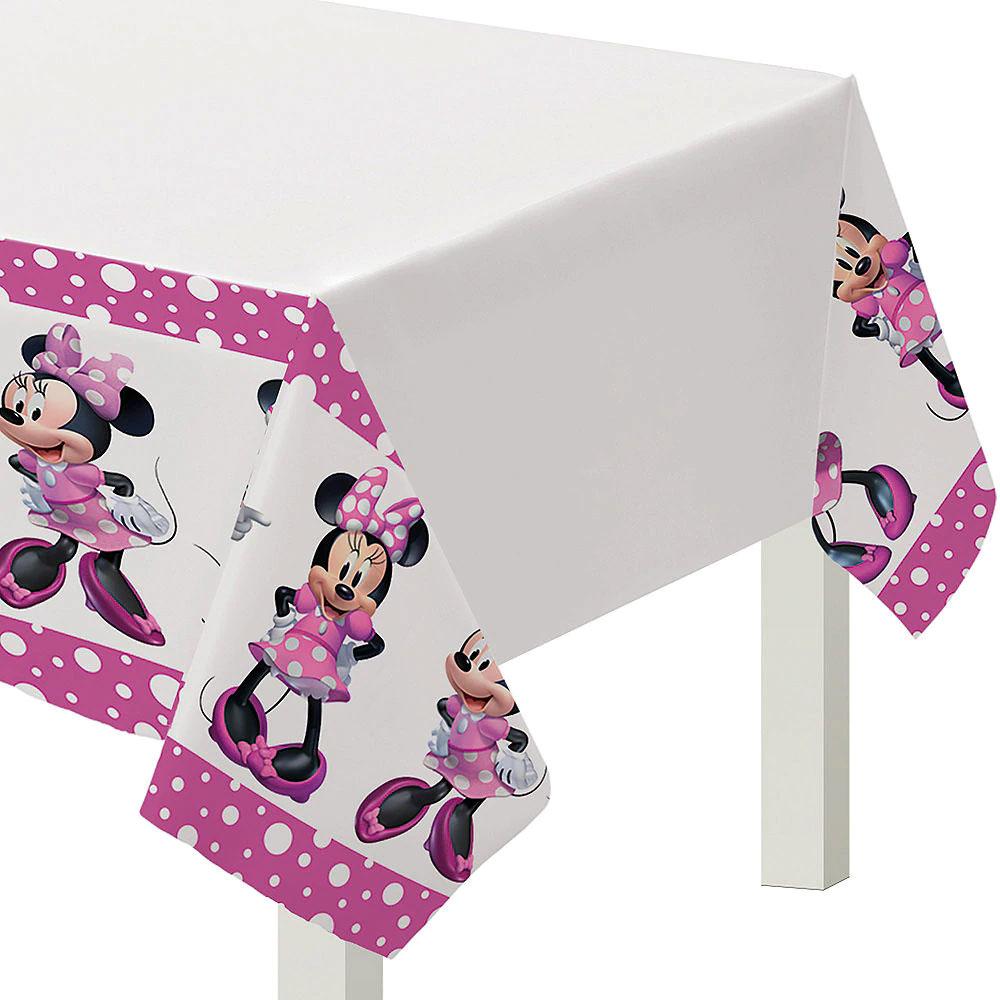 572492 テーブルカバー『ミニーマウス フォーエバー』
