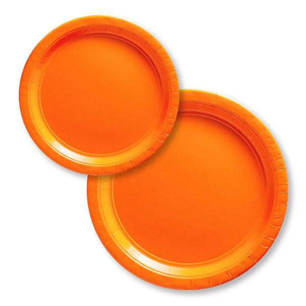 54015.05/55015.05 ペーパープレート(オレンジ ピール)