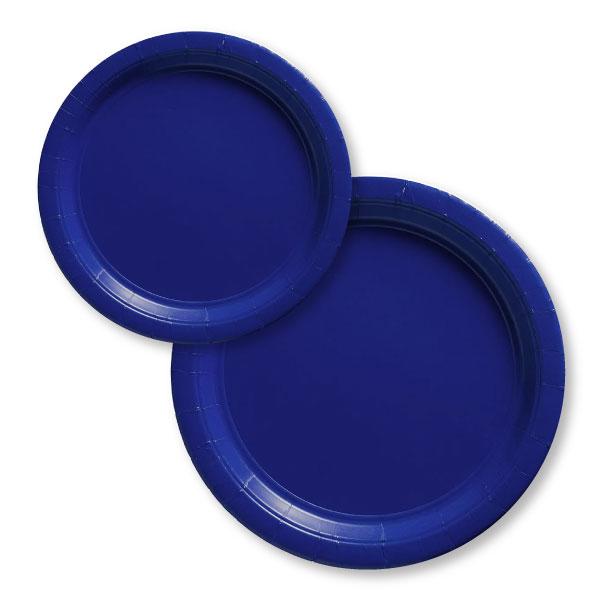54015.105/55015.105 ペーパープレート(ブライト ロイヤル ブルー)