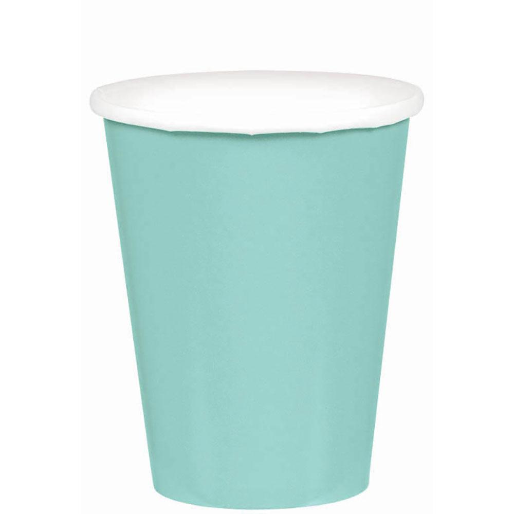 58015.121 ペーパーカップ 9オンス(ロビンズエッグブルー)