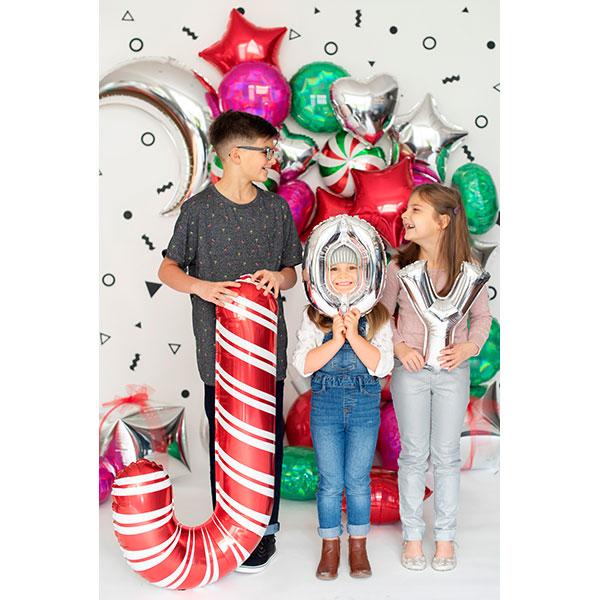 【イメージ配信】Christmas Balloon/POP用データ(5 images)