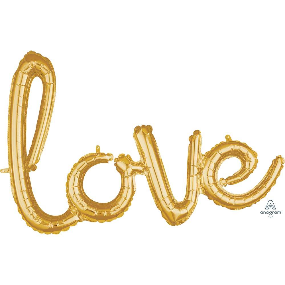 39696 「Love」(ゴールド)