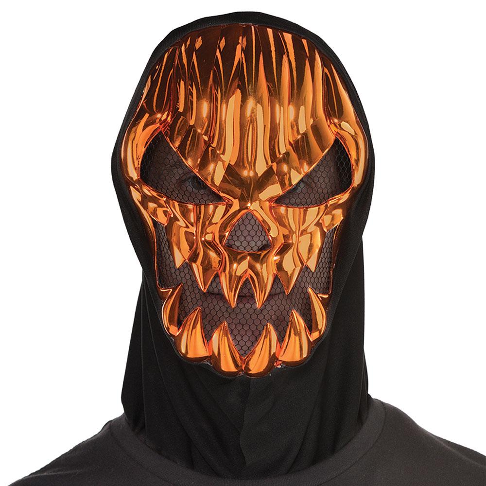 8400817 スケアリー パンプキン メタリック マスク