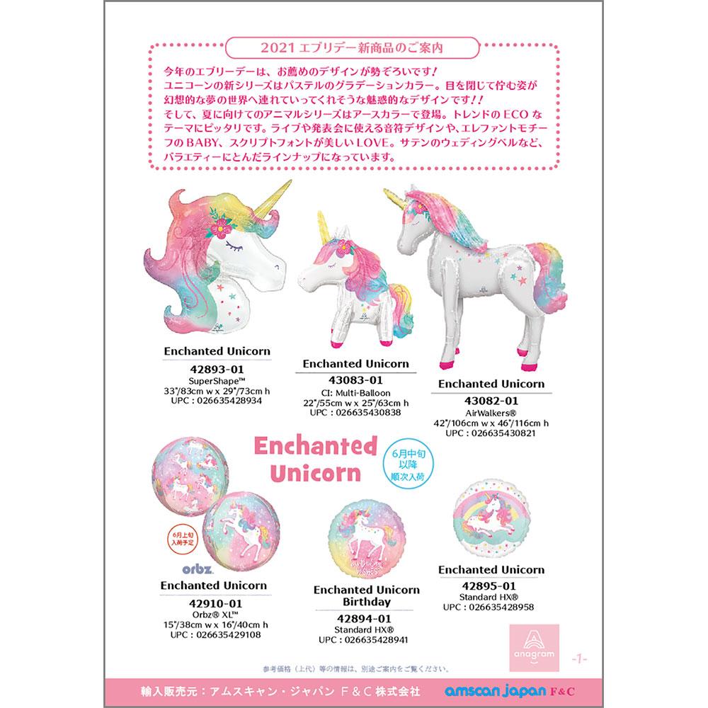 Anagram 2021 エブリデーバルーン【新商品】リーフレット