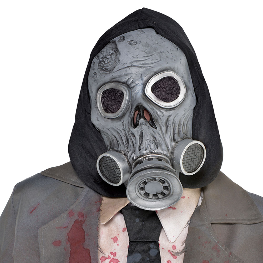 847427 ゾンビ フード付 ガスマスク